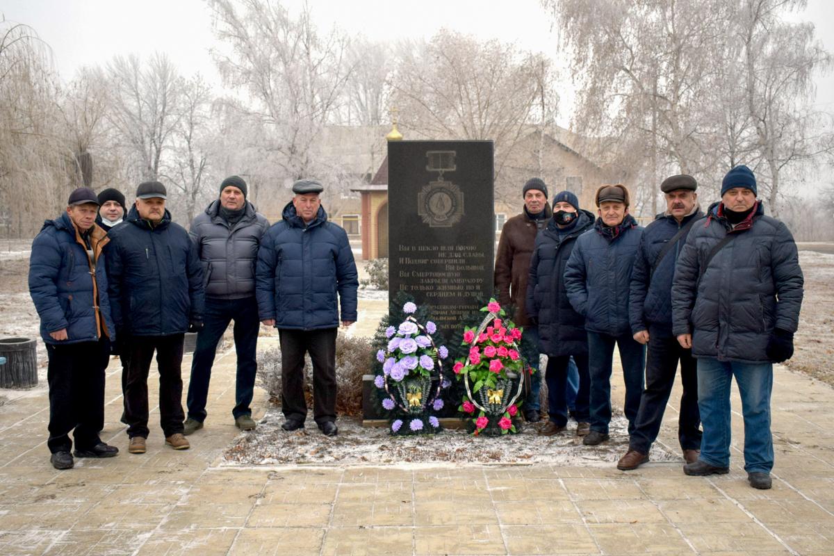 В Первомайске активисты возложили цветы ко Дню чествования участников ликвидации последствий аварии на Чернобыльской АЭС 1