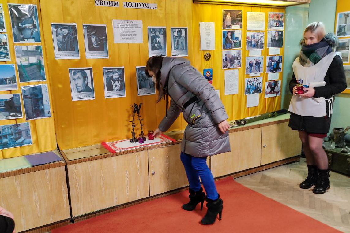 Акция «Свеча памяти», приуроченная ко Дню памяти журналистов прошла в Первомайске 1