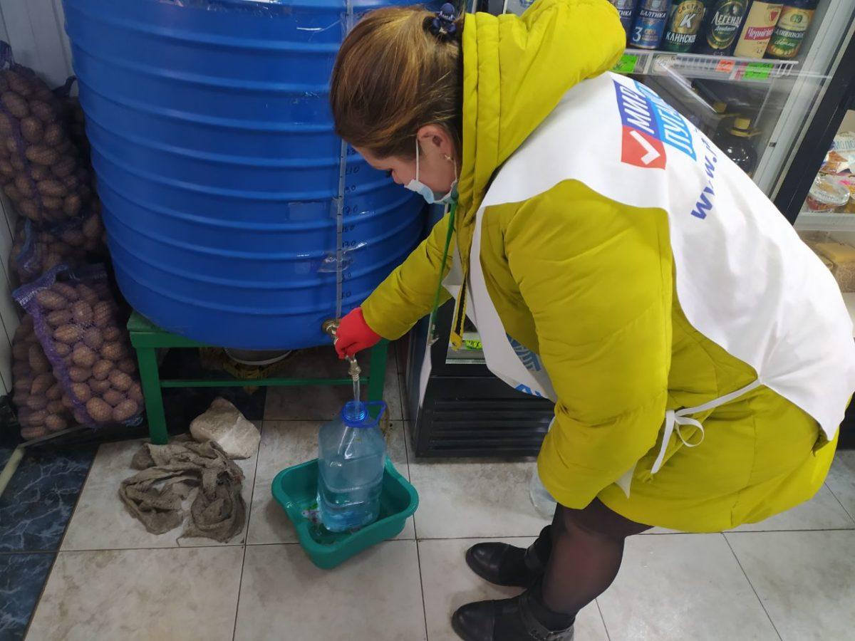 Волонтёры помогли двум жительницам Первомайска 1