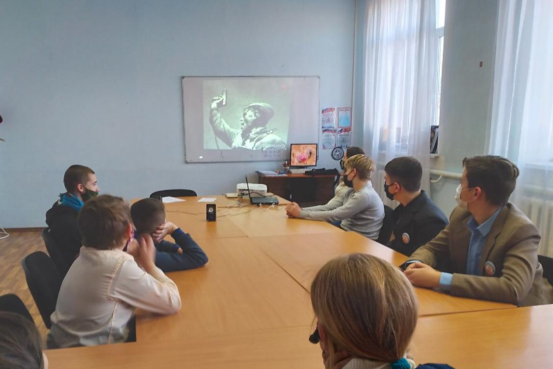 В Первомайске для воспитанников «Центра внешкольного образования» провели урок мужества 1