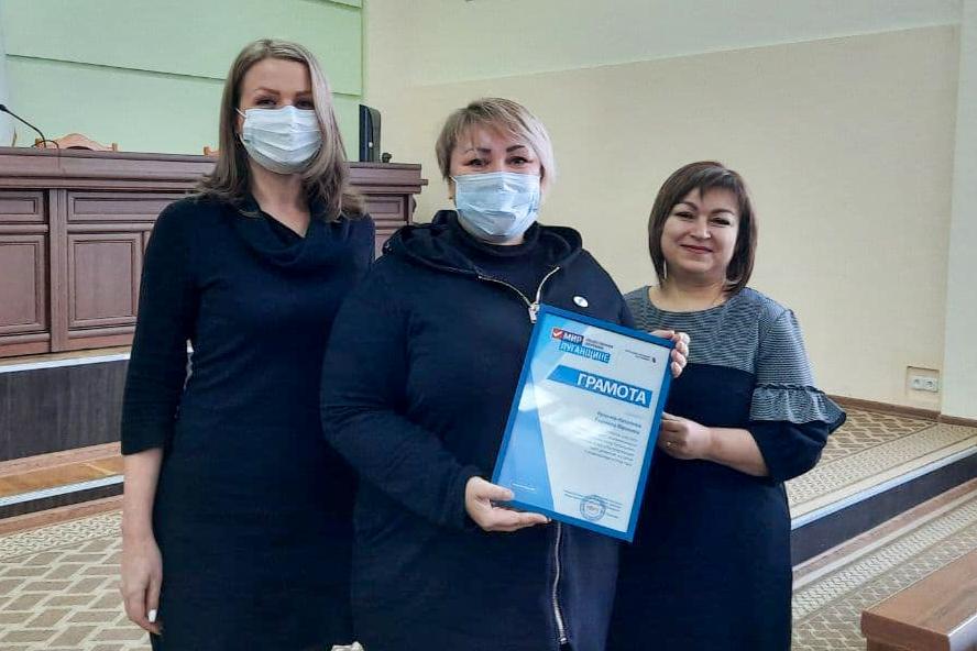 В Антраците подвели итоги работы теротделения ОД «Мир Луганщине»