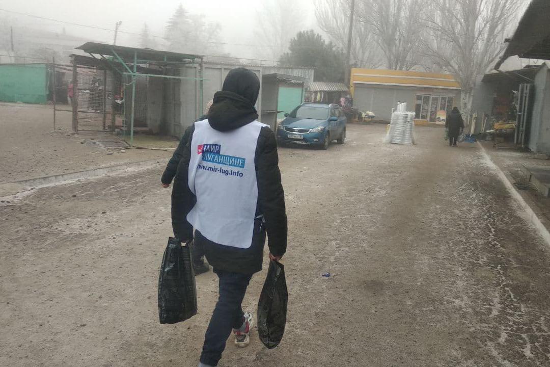 За неделю волонтёры акции «Рука помощи» помогли трём жителям Стаханова