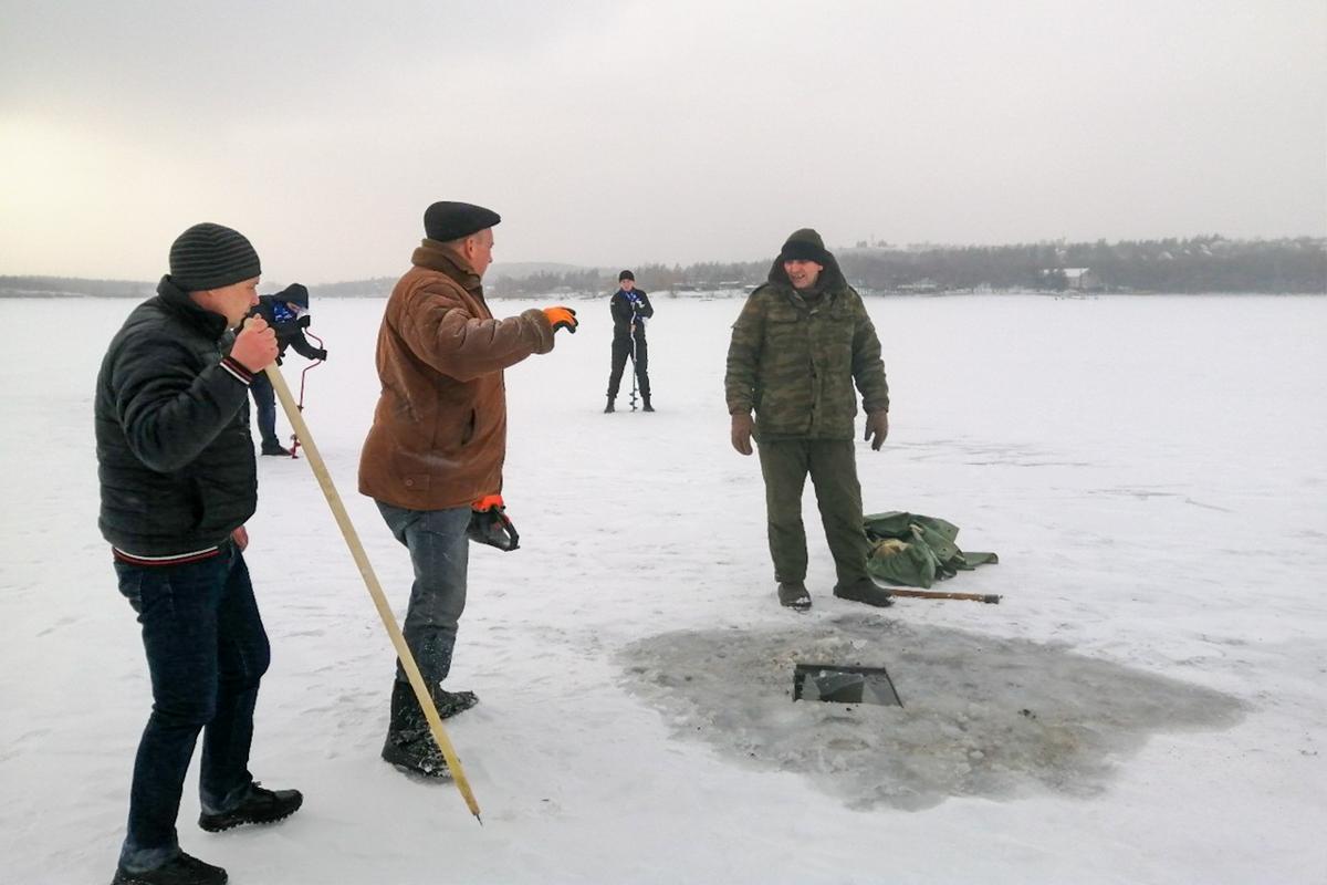 Лутугинские активисты провели акцию по предотвращению гибели водные биоресурсов 1