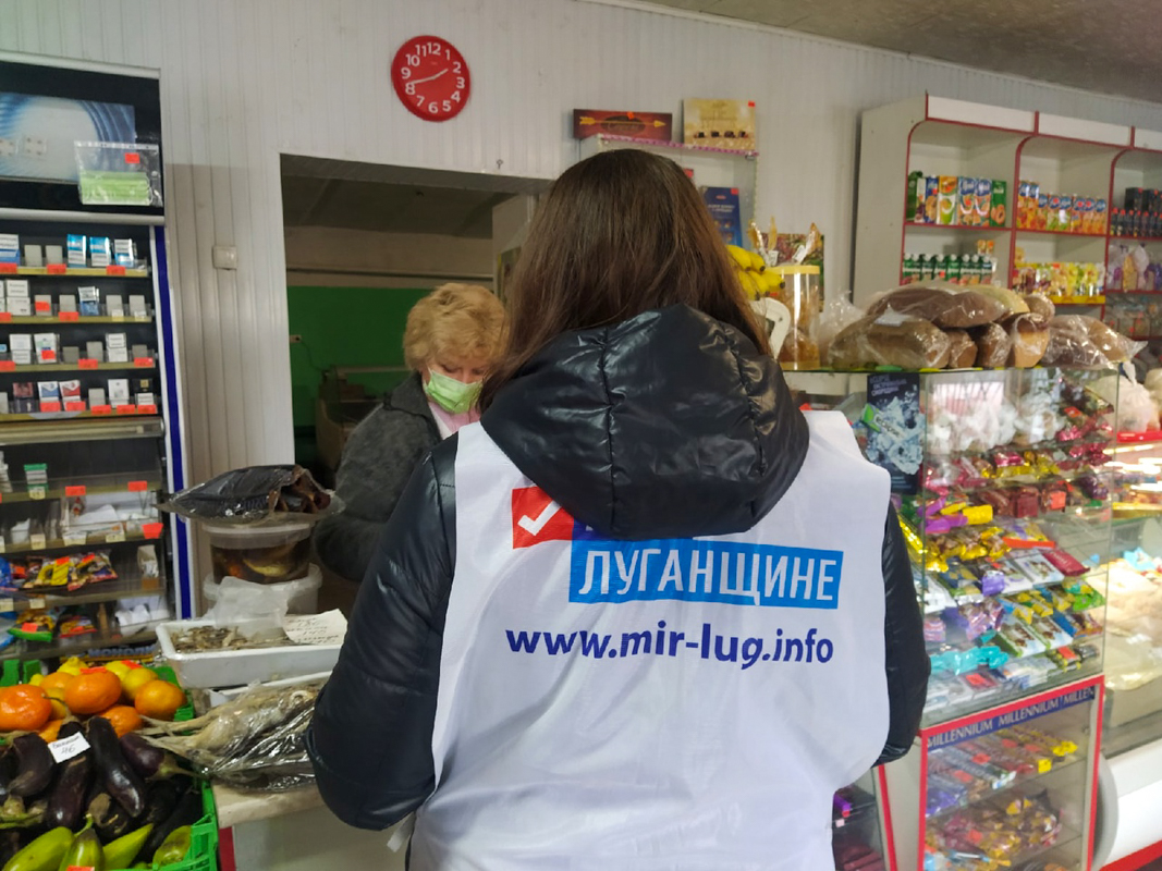 Активисты помогли двум жительницам Перевальска в рамках акции «Рука помощи»