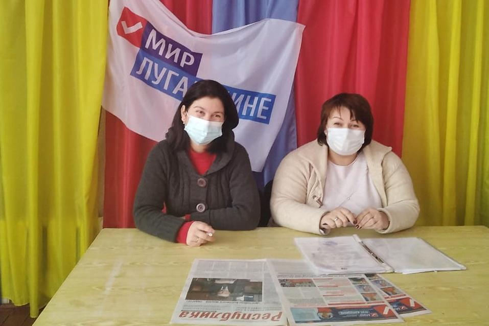 В Нижнем Нагольчике прошла встреча с активистами первичного отделения движения
