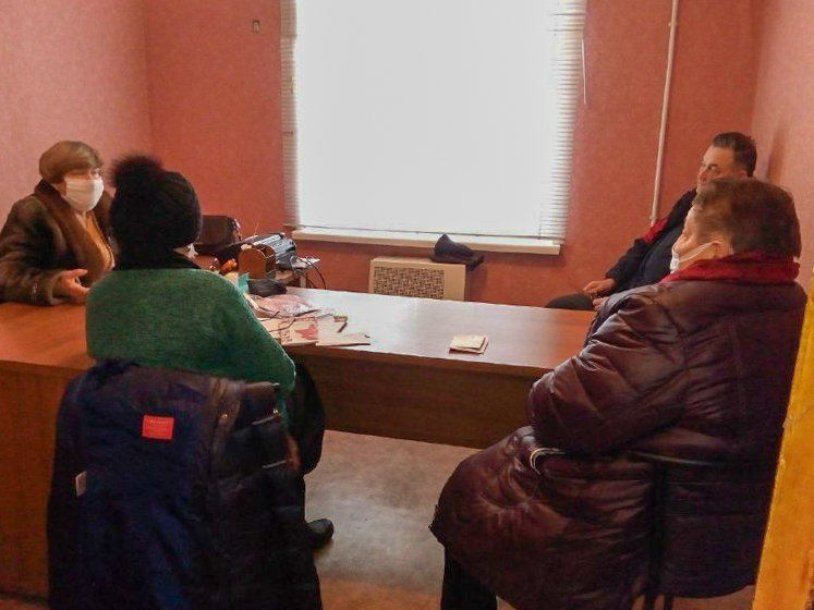 Заседание активистов проекта «Забота о ветеранах» прошла в Перевальске
