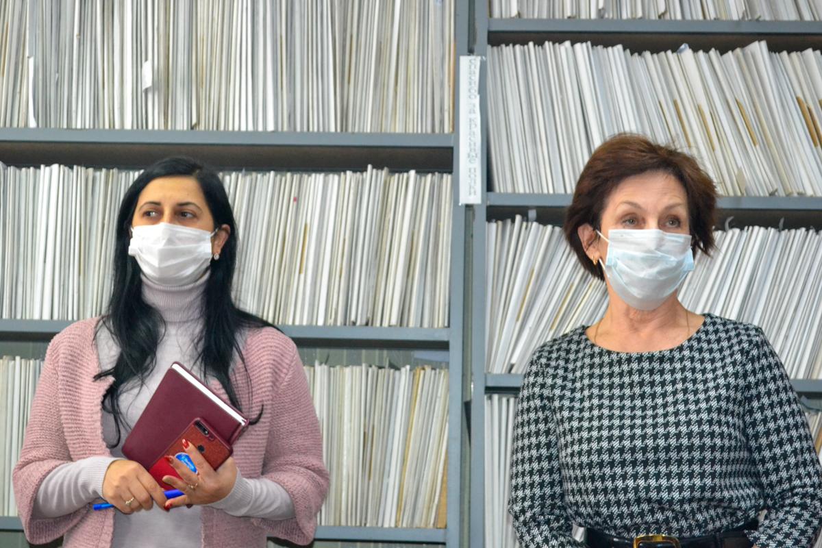 В Ровеньках прошла встреча с работниками управления труда и социальной защиты населения 2