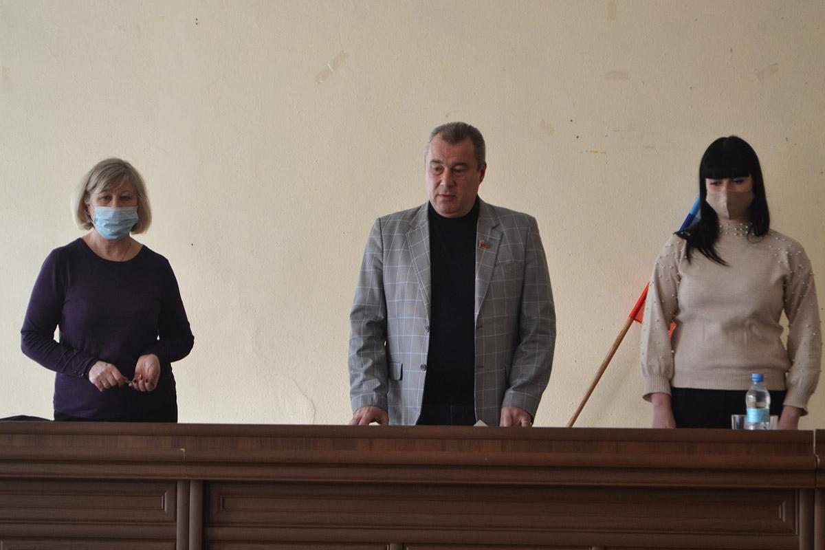 Депутаты от ОД «Мир Луганщине» встретились с председателями квартальных комитетов Жовтневого района Луганска