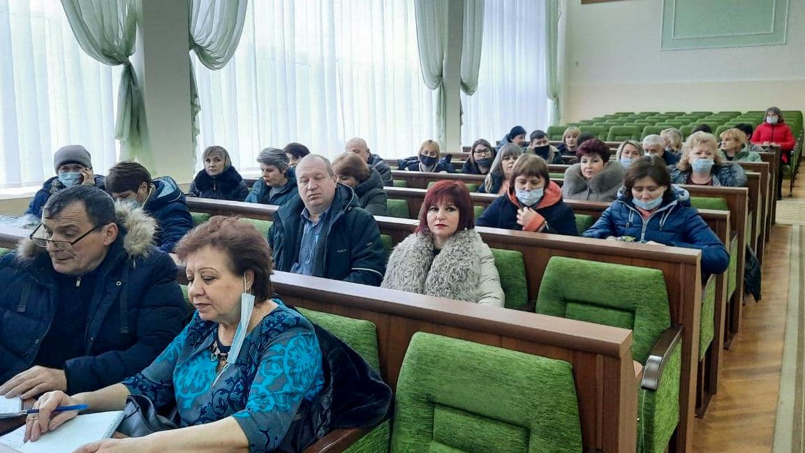 Встреча с руководителями первичных отделений прошла в Антраците