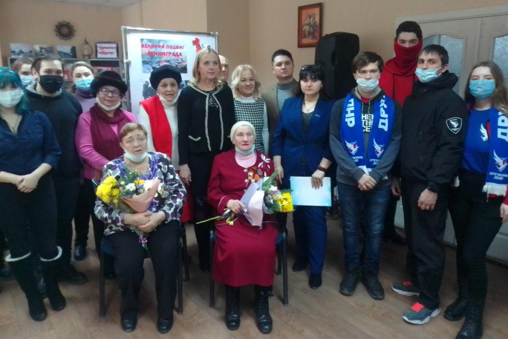 В городах ЛНР провели памятные мероприятия, посвящённые освобождению Ленинграда от блокады 4