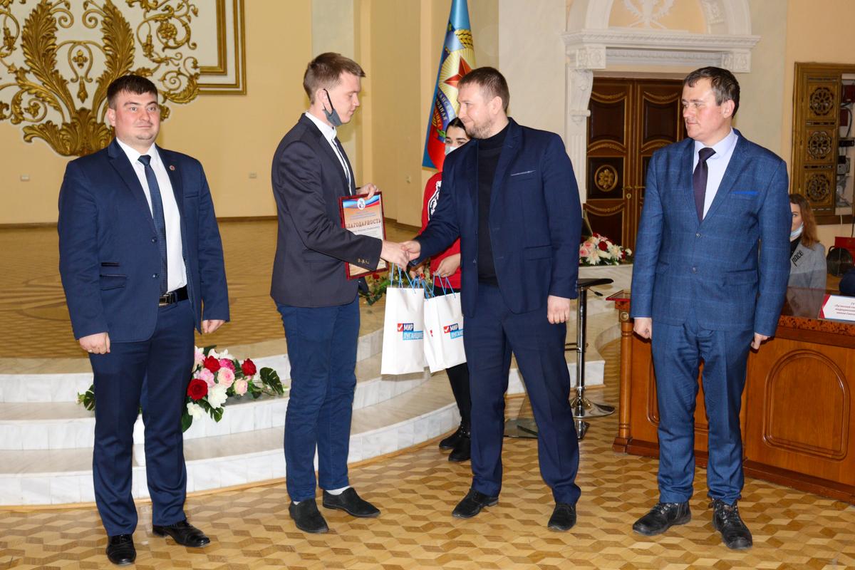 Круглый стол, приуроченный ко Дню студента, прошёл в Луганске 5