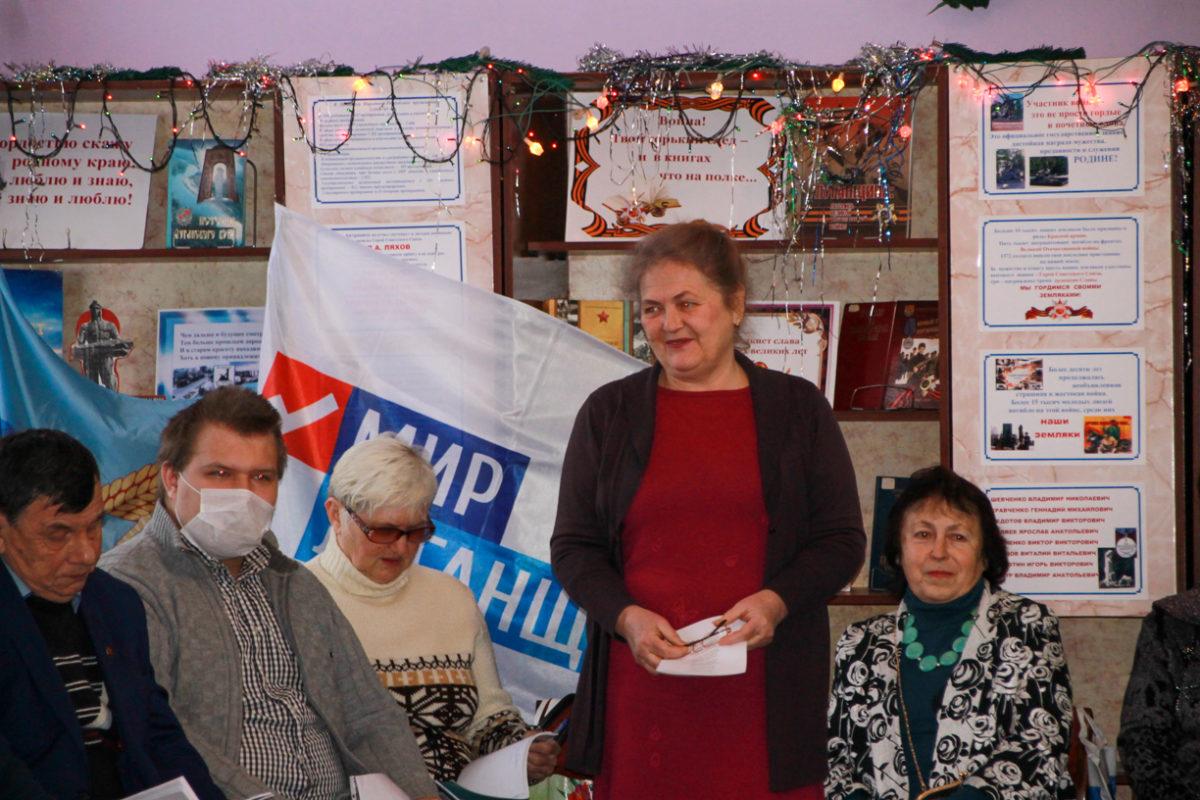 В Антраците активисты провели встречу посвященную Старому Новому году