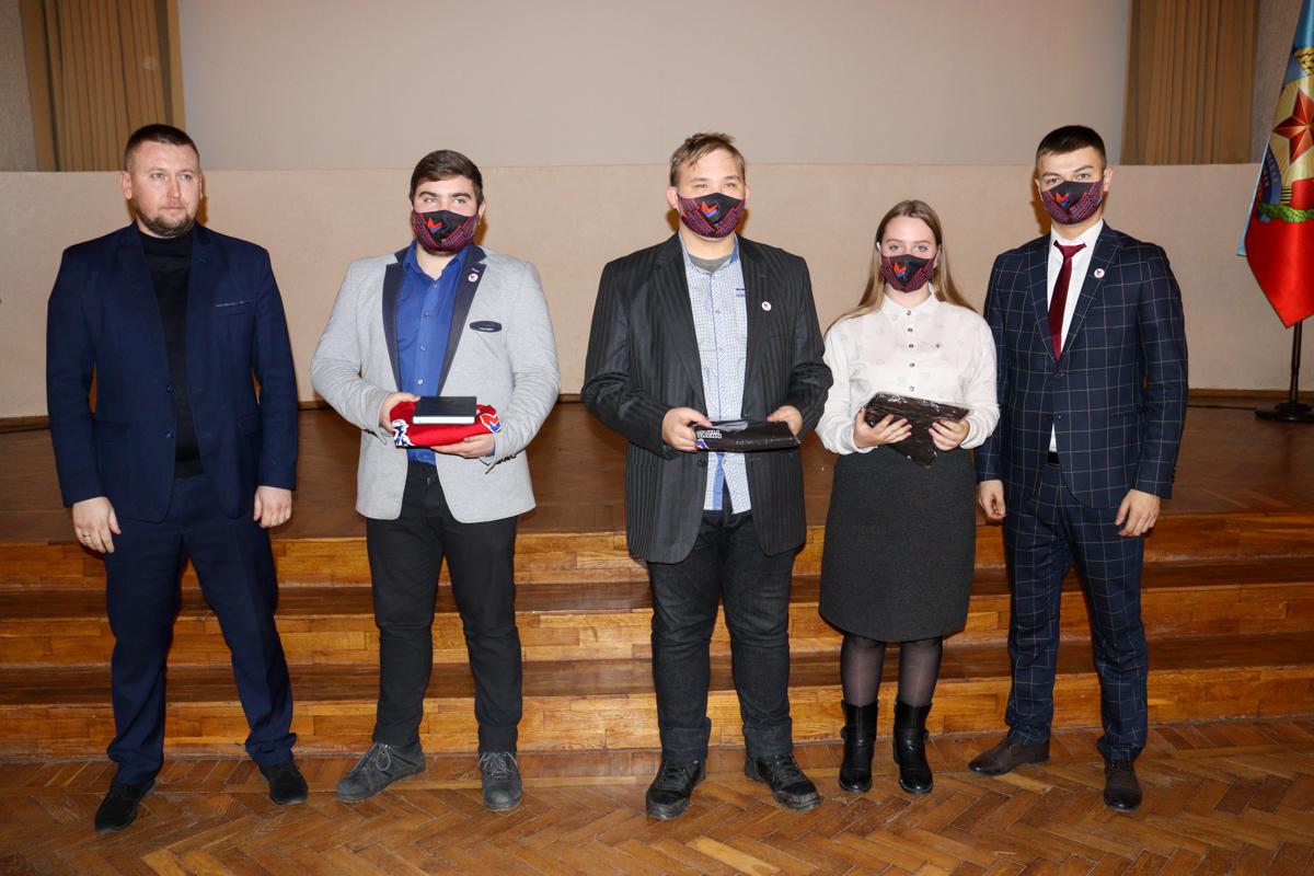 Съезд участников проекта «Молодая Гвардия» ОД «Мир Луганщине» прошёл в Краснодоне 4