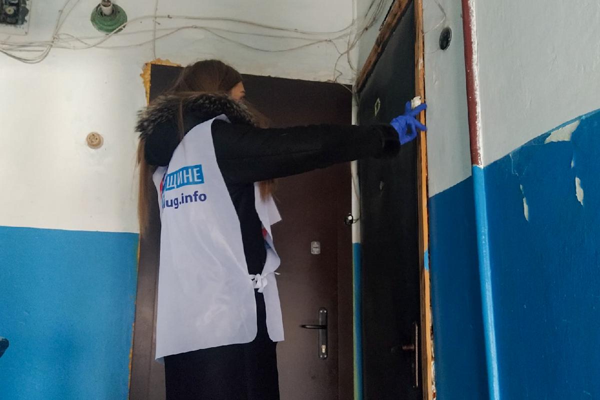 Волонтёры акции «Рука помощи» за неделю помогли 47 жителям ЛНР