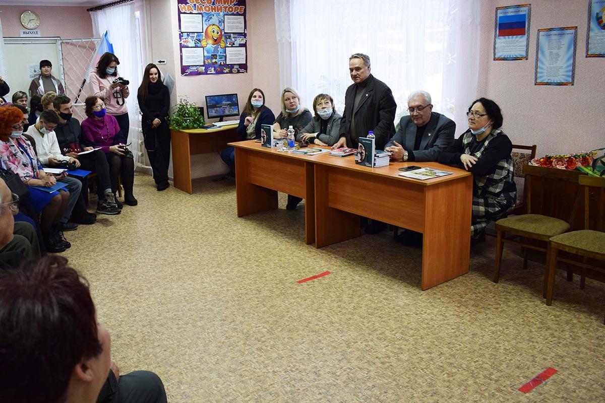 В Первомайске презентовали книгу Андрея Медведенко «Нельзя не вернуться»