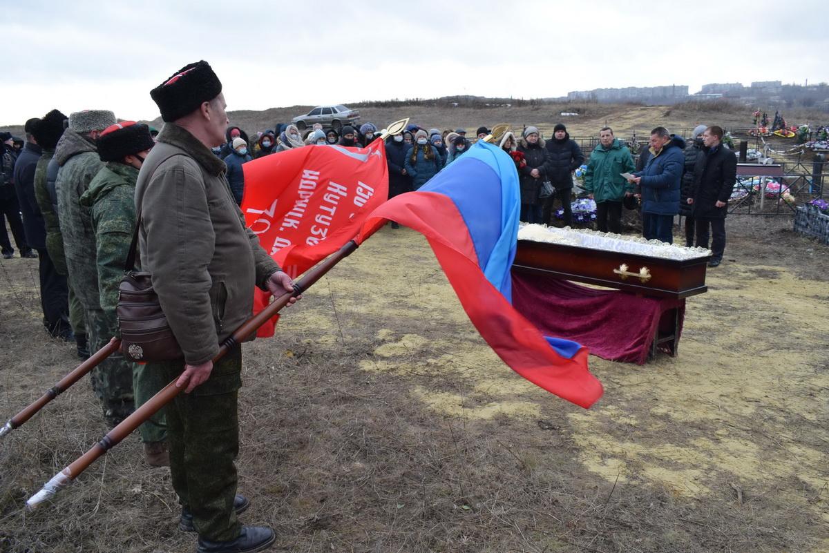 В Первомайске простились с ветераном Великой Отечественной войны Алексеем Вороновым 1