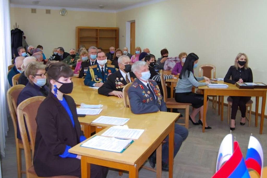 В Стаханове состоялась встреча участников ветеранских организаций и представителей проекта «Забота о ветеранах» 1
