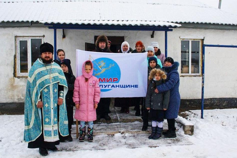Активисты села Сабовка передали в дар местному храму именную икону Тихвинской Божьей матери 1