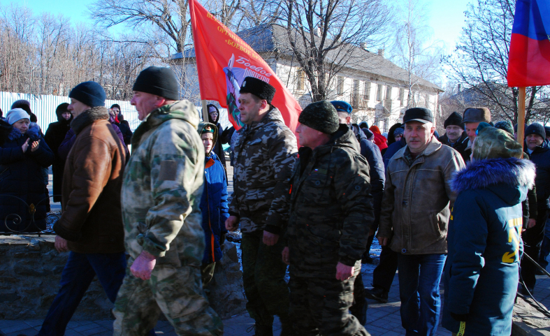 В городе Червонопартизанске состоялся митинг-реквием, посвященный 32-й годовщине вывода советских войск из Афганистана