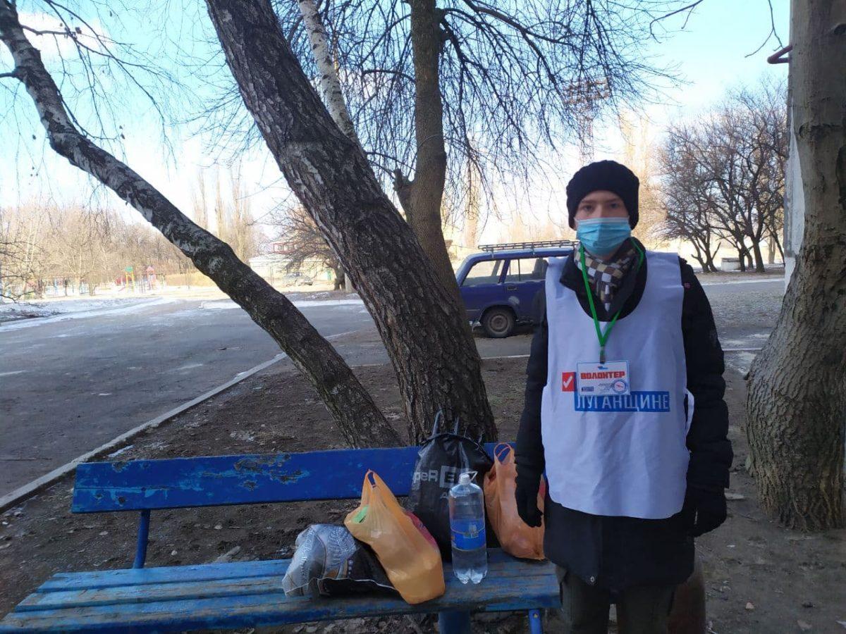 В Кировске волонтёры акции «Рука помощи» помогли двум жителям города