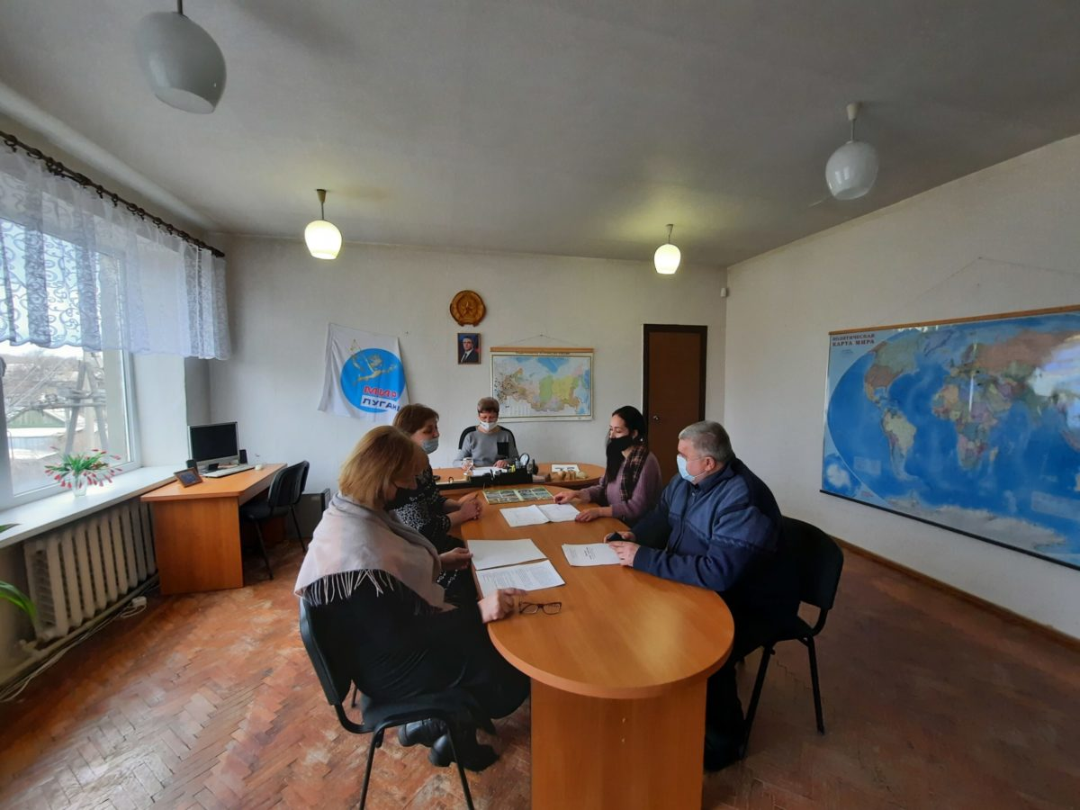 В Изварино активисты обсудили реализацию мини-проекта