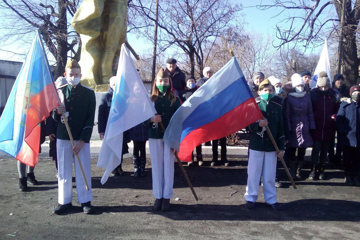 В посёлке Новодарьевка города Ровеньки почтили память павших героев Великой Отечественной войны