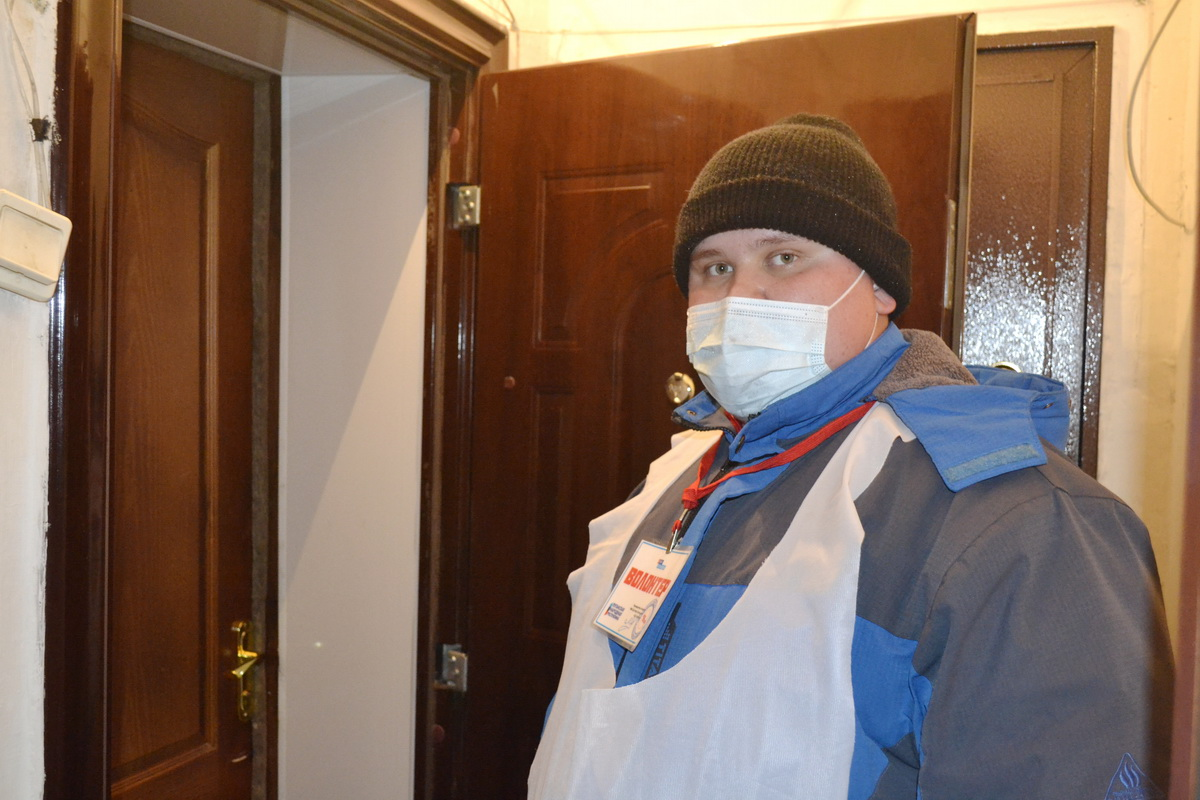 Жительнице города Ровеньки помогли в рамках акции «Рука помощи»
