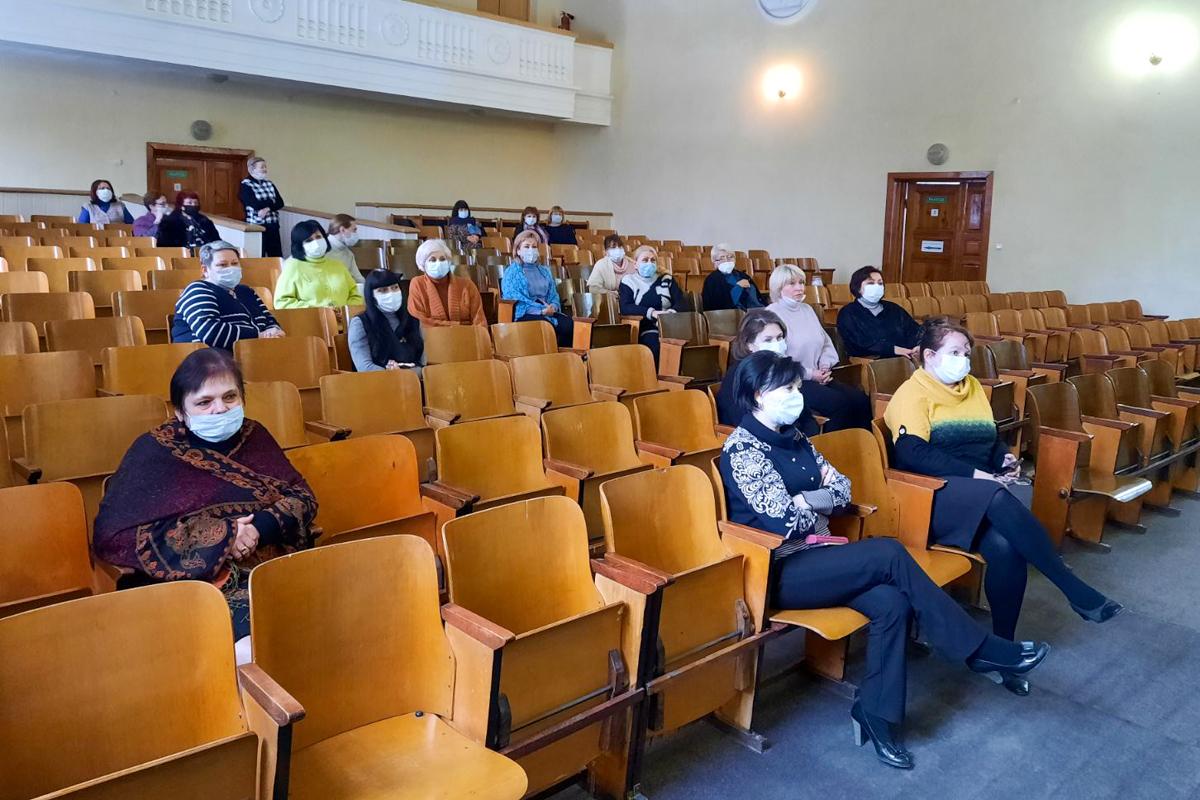 В Алчевске активисты встретились с работниками сферы культуры города