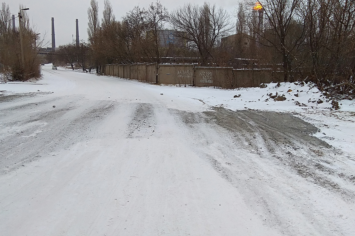 Роман Лысенко оказал содействие в решении вопроса восстановления участка проезжей части в Алчевске
