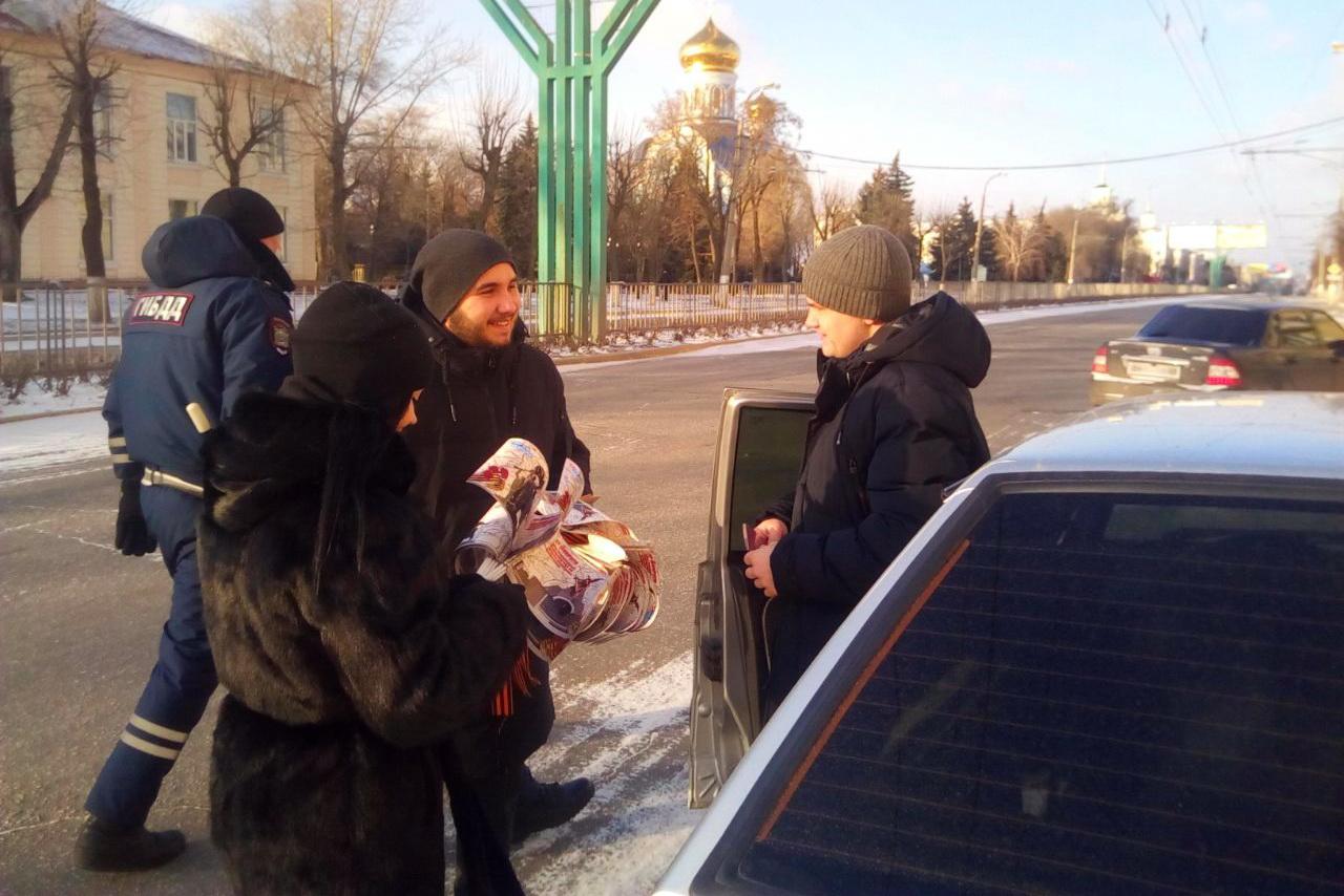 Автоперфоманс «Голос памяти» провели в Луганске