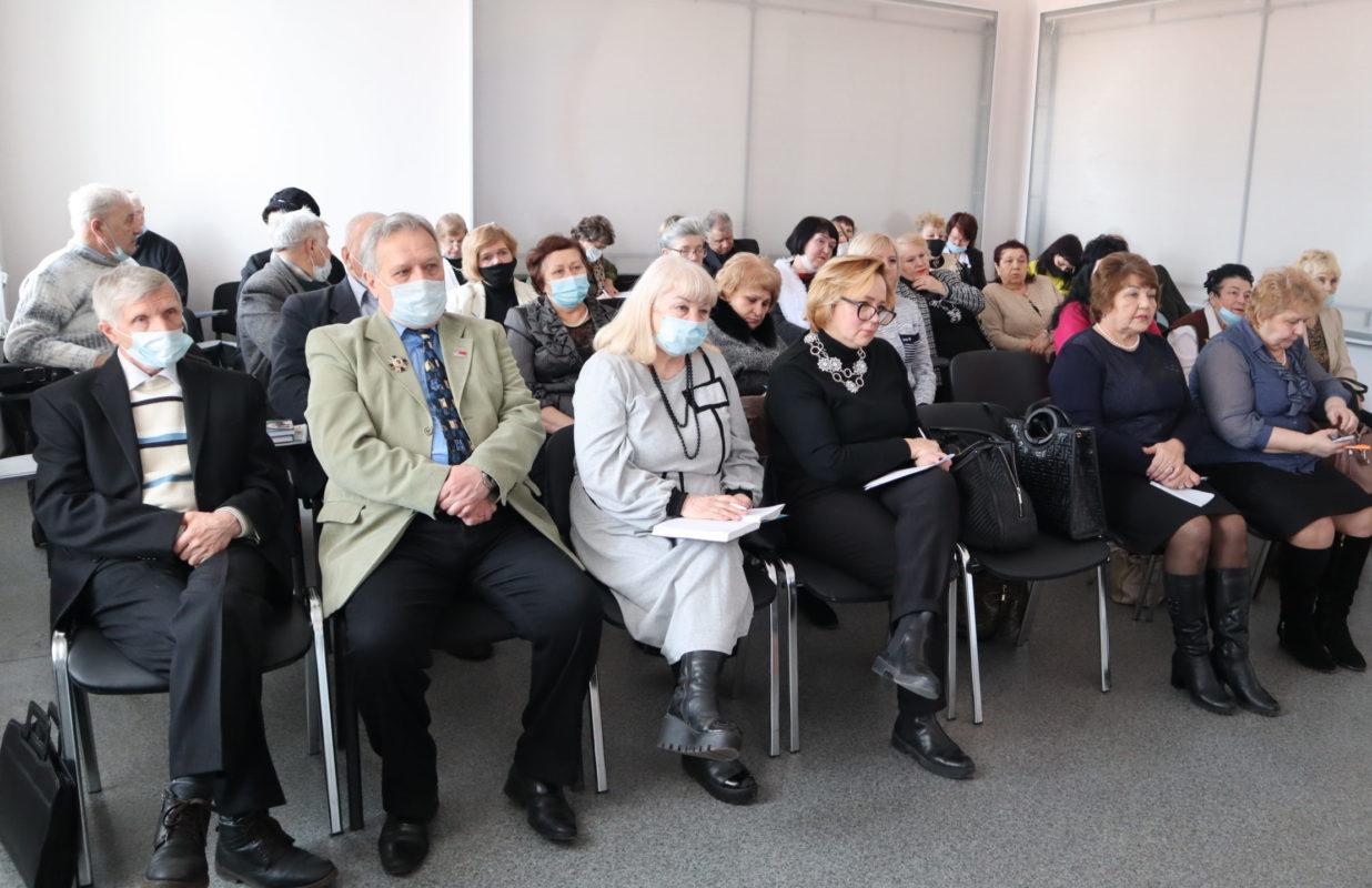 В Луганске прошла встреча участников проекта «Забота о ветеранах» ОД «Мир Луганщине»