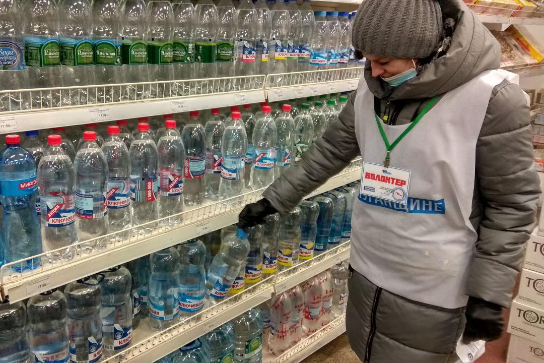 Активисты акции «Рука помощи» помогли четверым жителям Первомайска