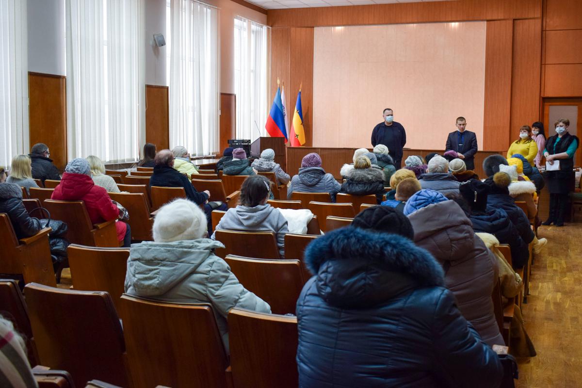 Жителям Первомайска передали продуктовые наборы от проекта «Волонтёр» 3