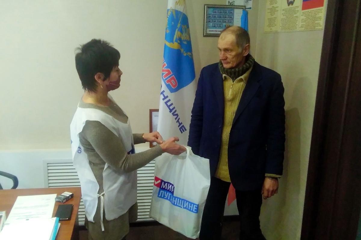 Помощь от проекта «Волонтёр» получили жители Перевальского района