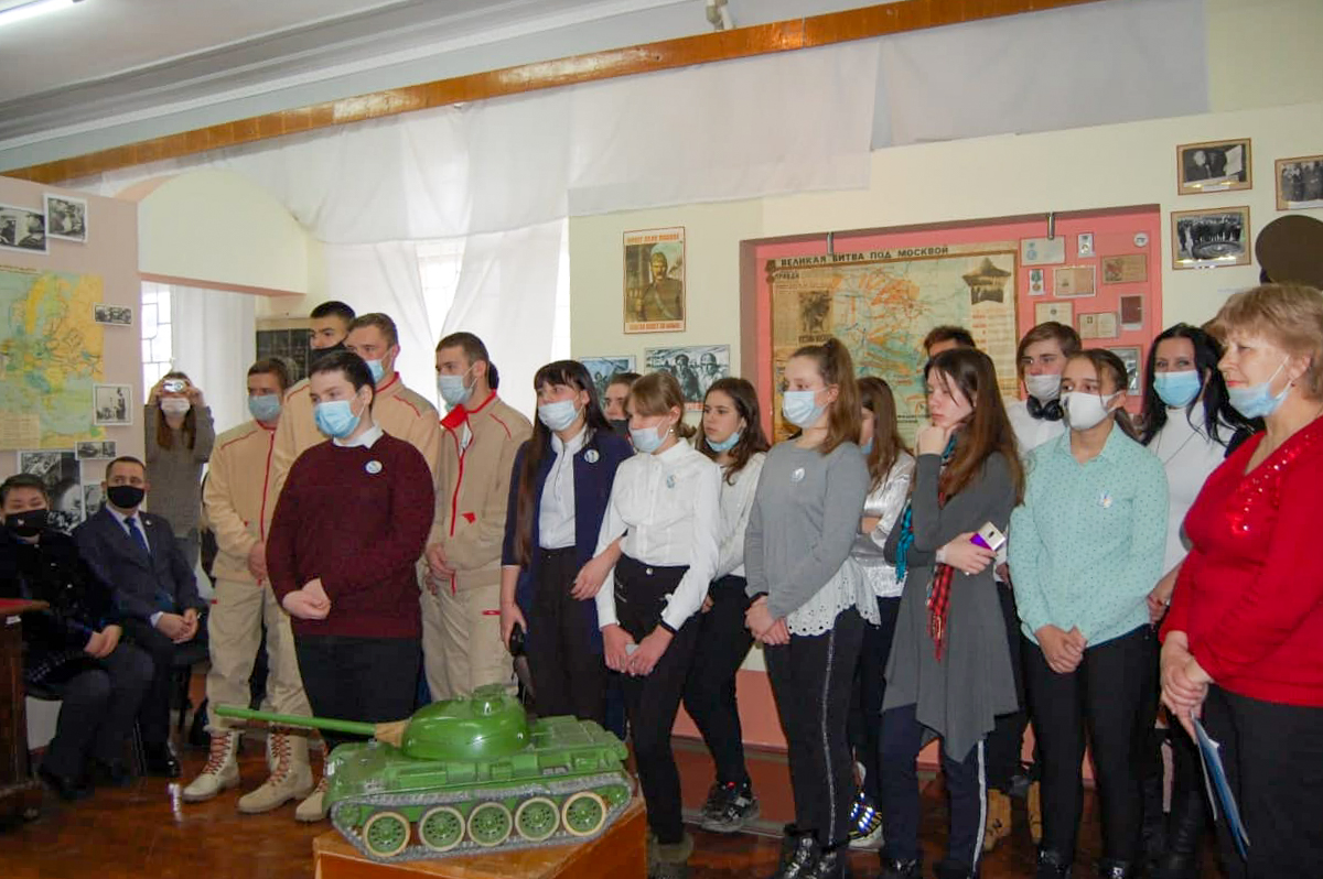 В Стаханове состоялась встреча, посвящённая 78-й годовщине разгрома советскими войсками немецко-фашистских войск в Сталинградской битве 2