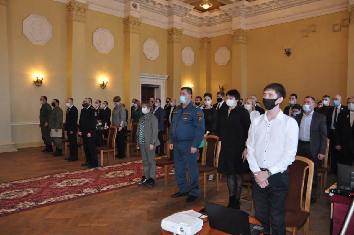 В Стаханове состоялось праздничное мероприятие, посвященное Дню защитника Отечества