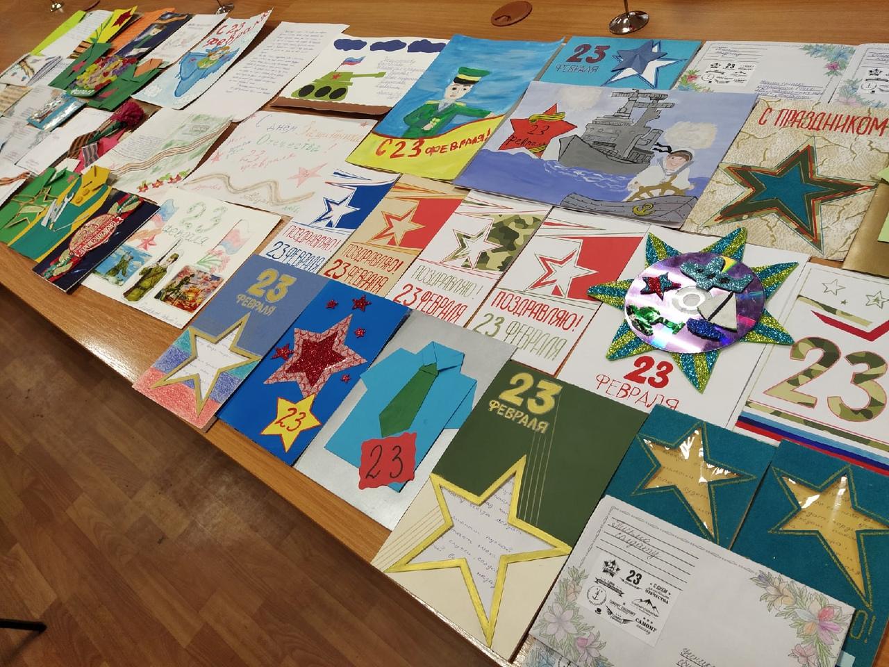 В рамках акции «Напиши письмо солдату» военнослужащие Республики получили подарки ко Дню защитника Отечества 4