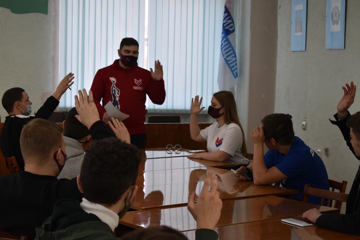 Молодёжные активисты ОД «Мир Луганщине» выдвинули своих кандидатов в Молодёжный Совет при администрации Брянки