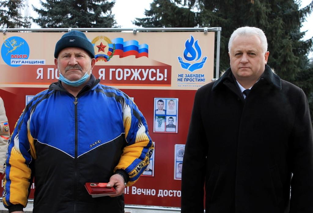 В разных городах ЛНР активисты ОД «Мир Луганщине» провели памятные мероприятия к годовщине окончания Чернухино-Дебальцевской операции 9
