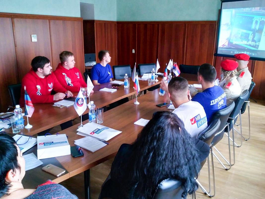 Делегация из Брянки с официальным визитом посетила Дебальцево ДНР 5