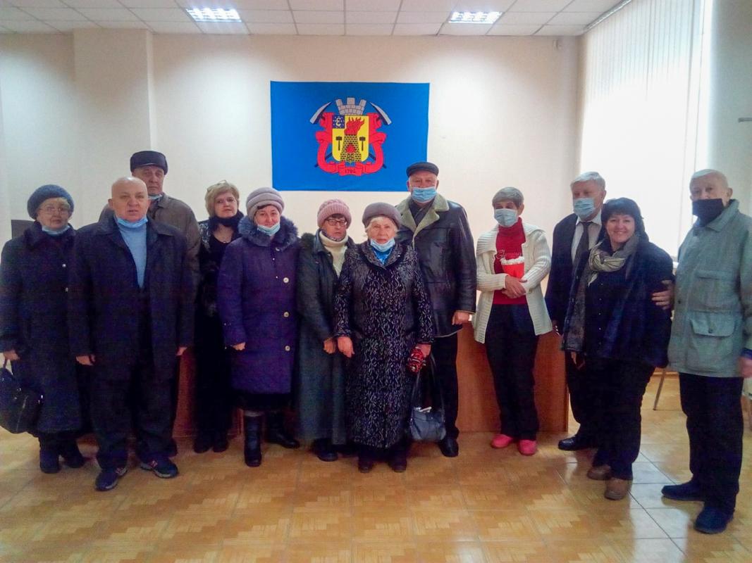 Активисты первичного отделения «Ветеран» провели встречу «День именинника»