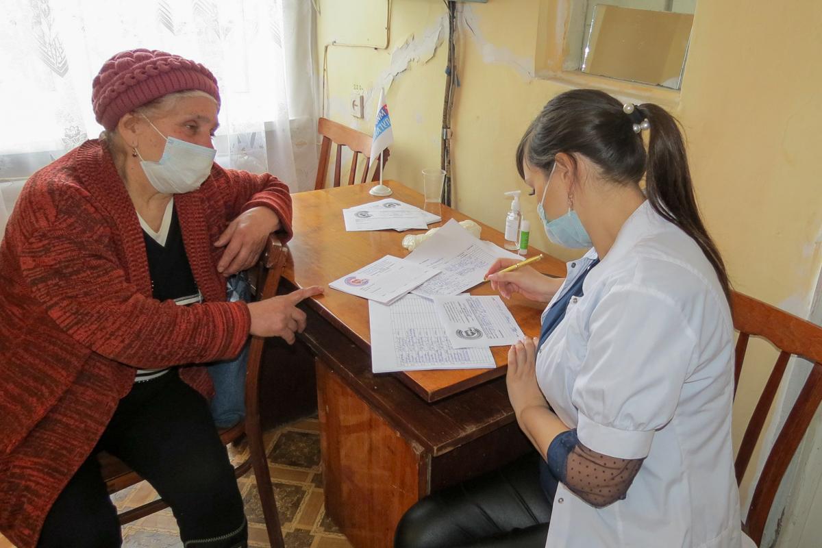 Акция «День здоровья» состоялась в посёлке городского типа Южная Ломоватка