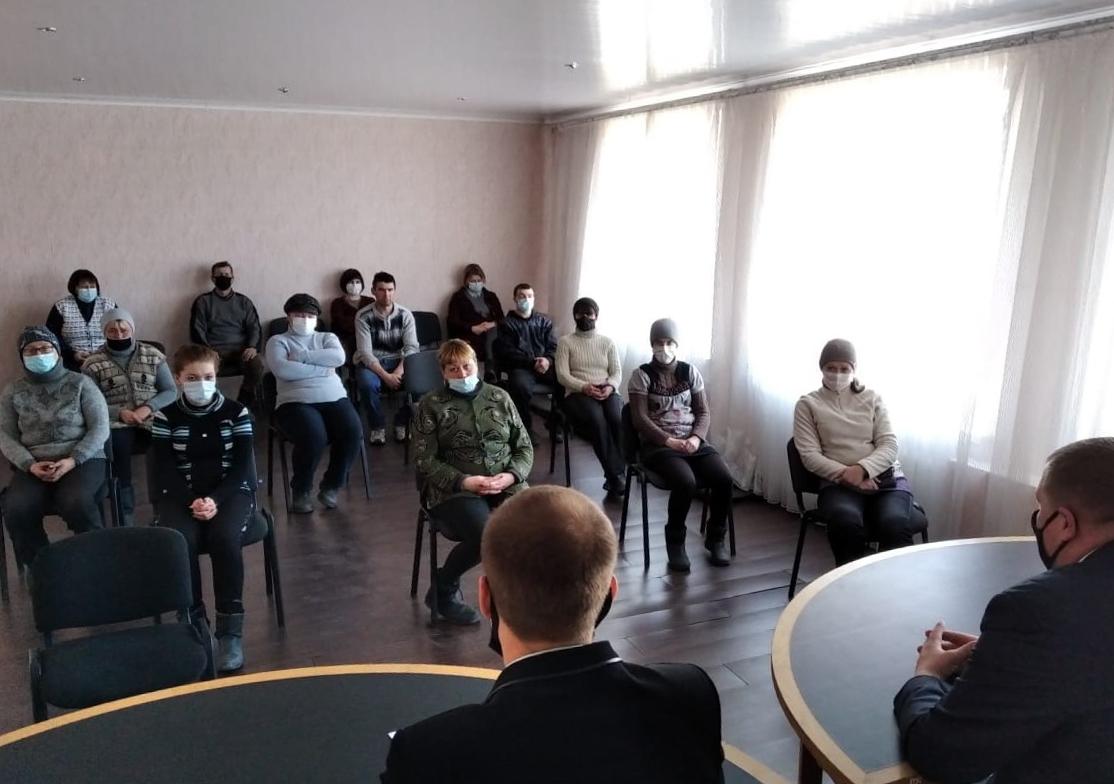 В Красном Луче прошла встреча с активистами первичного отделения ОД «Мир Луганщине»