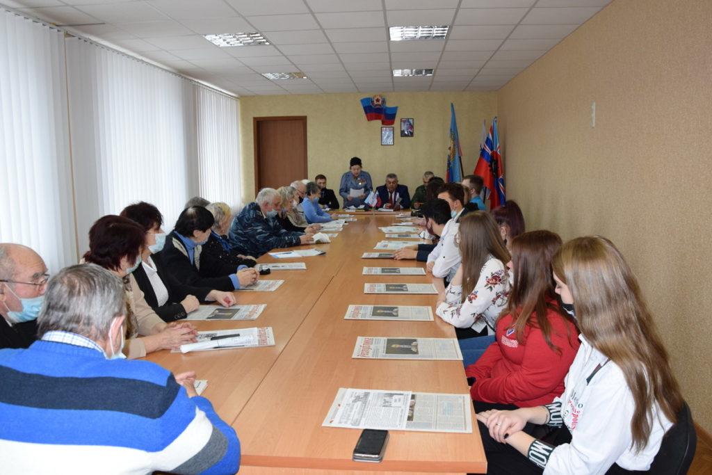 Активисты Общественного движения «Мир Луганщине» отметили годовщину начала Русской весны 8