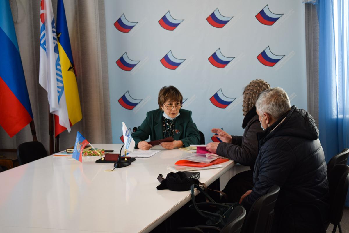 Светлана Алёшина встретилась с жителями села Борщеватое