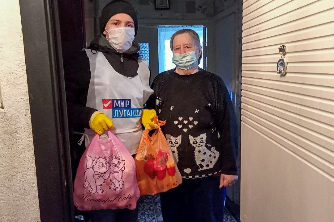 Жителям Луганска передали 70-ю партию шефской помощи от ЛЭМЗ