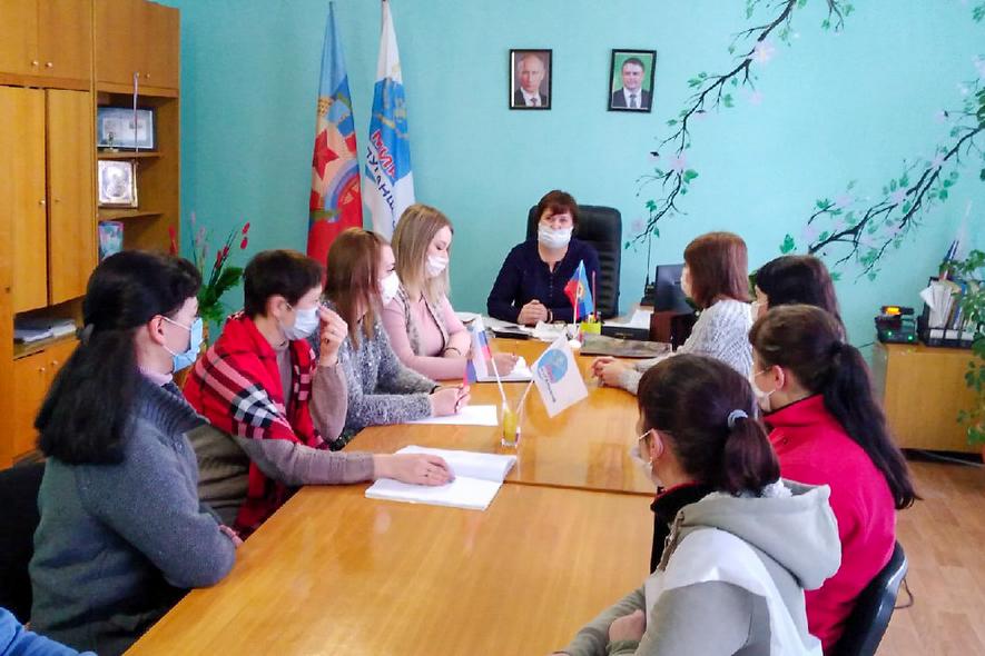 Активисты Фащевского первичного отделения ОД «Мир Луганщине» провели встречу