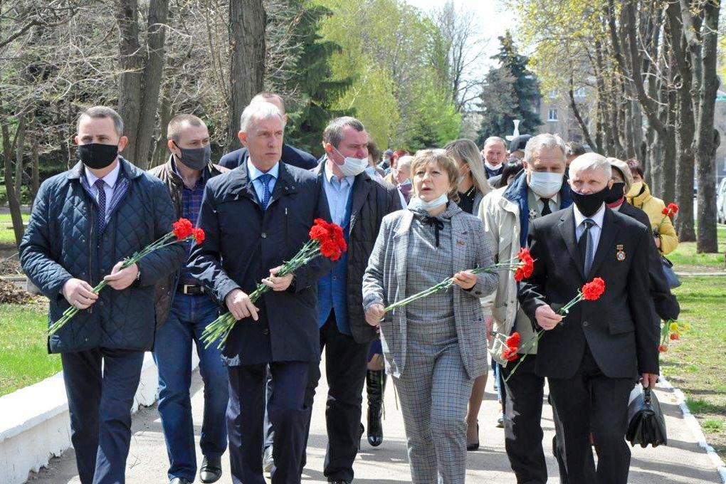 В ЛНР прошли мероприятия ко Дню участников ликвидации последствий радиационных аварий и катастроф и памяти жертв этих аварий и катастроф 17