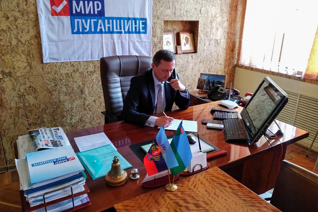 Прямую телефонную линию в Брянке провёл Николай Моргунов