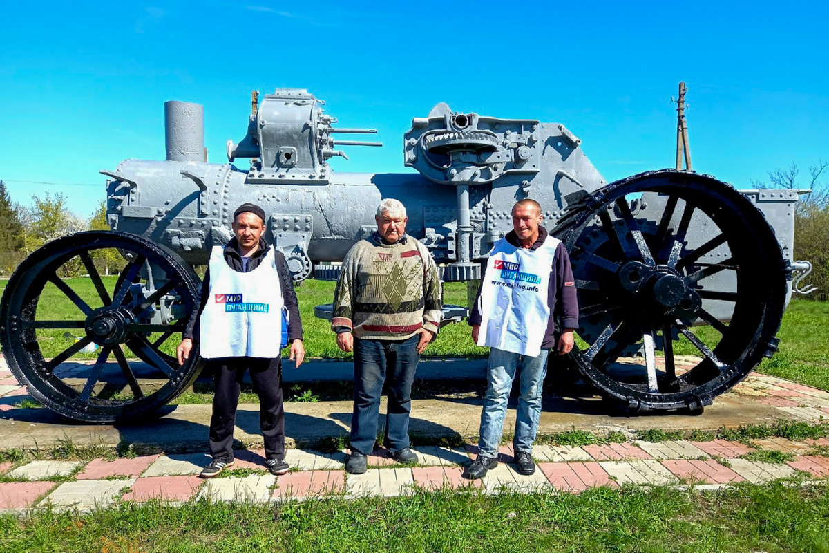 Активисты из трёх населённых пунктов Краснодонского района провели субботники